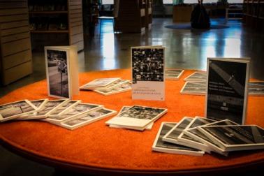 Bokbordet på Mjölby bibliotek. Foto: Peter Nyberg.
